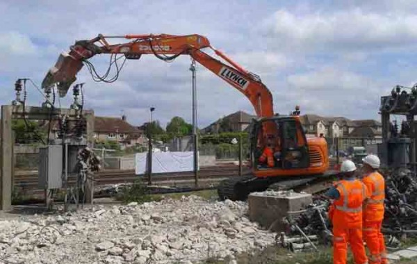 Demolition Works  – Barnham Substation