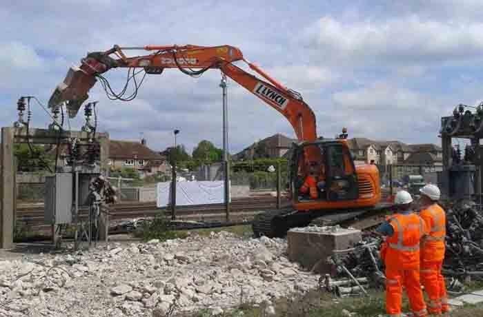 Demolition Works  – Barnham Substation