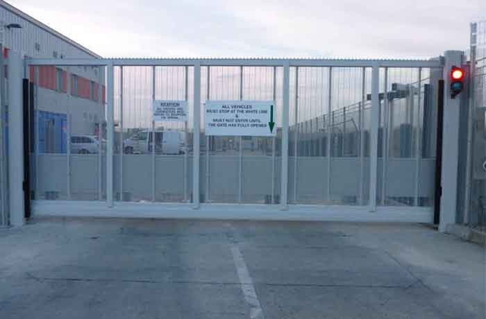 Security Gate Install – Thamesmead